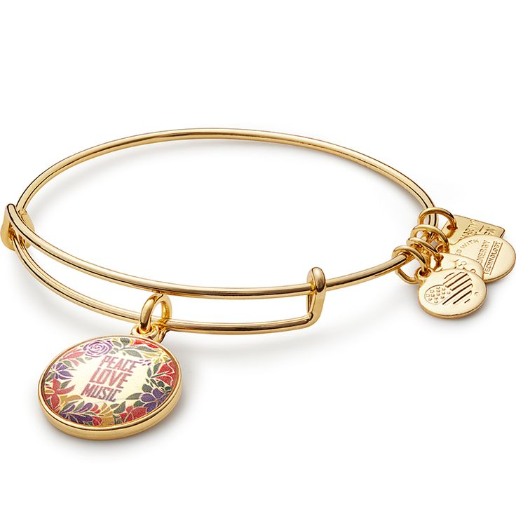bangle jude gift with bracelets gold shop charm bracelet words bangles st
