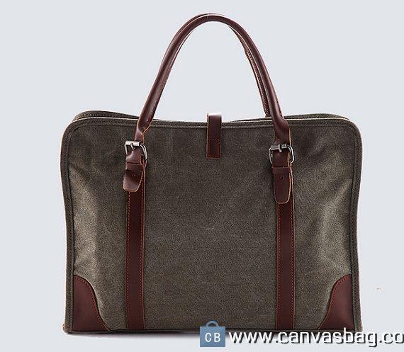 Canvas Messenger Bags Laptop Designer Messenger Bag