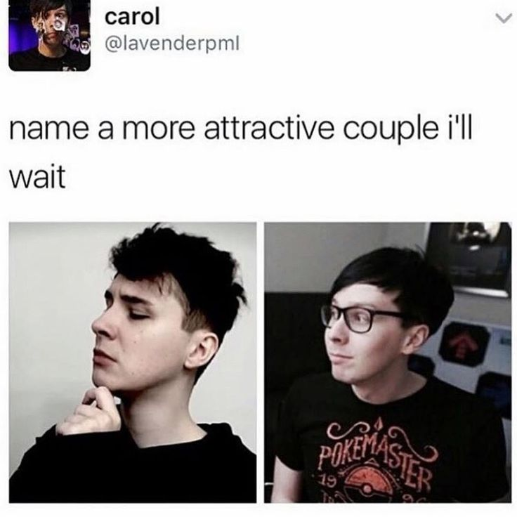 They're not a couple, but I do SHIP them. I'll just be happy as long as they're happy. Whether it be them dating or just friends.