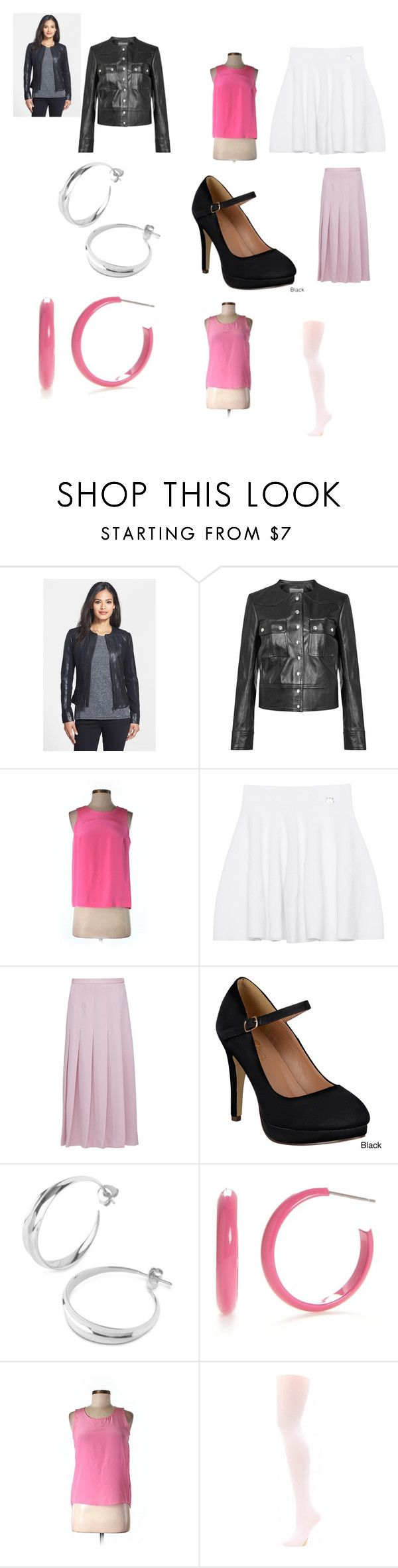 """""""Sarah Michelle Gellar's Buffybot outfit from """"Buffy the Vampire Slayer"""" (""""Intervention"""")"""" by terrence-michael-clay on Polyvore featuring La Marque, Étoile Isabel Marant, Amanda Uprichard, Kenzo, Mother of Pearl, Journee Collection, Dinny Hall, Kim Rogers, Uniqlo and Capezio Dance"""
