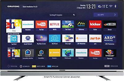 Grundig 43GFB6623 LED Fernseher (108 cm (43 Zoll), Full HD, Smart-TV) inkl. 36…