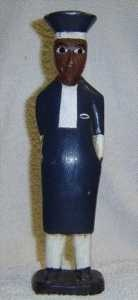 Wooden Colonial Figure