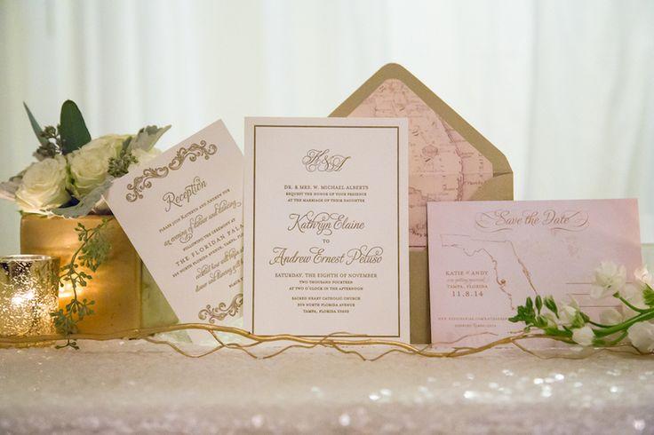 Florida Inspired Wedding Invitations