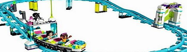 LEGO 41130 Friends Amusement Park Roller Coaster Construction Set Head through the turnstiles to the amusement park and stand in line for the roller coaster. Slip into the front seat to switch on the light brick and off you go - wheeeee (Barcode EAN = 5702015593625) http://www.comparestoreprices.co.uk/latest1/lego-41130-friends-amusement-park-roller-coaster-construction-set.asp