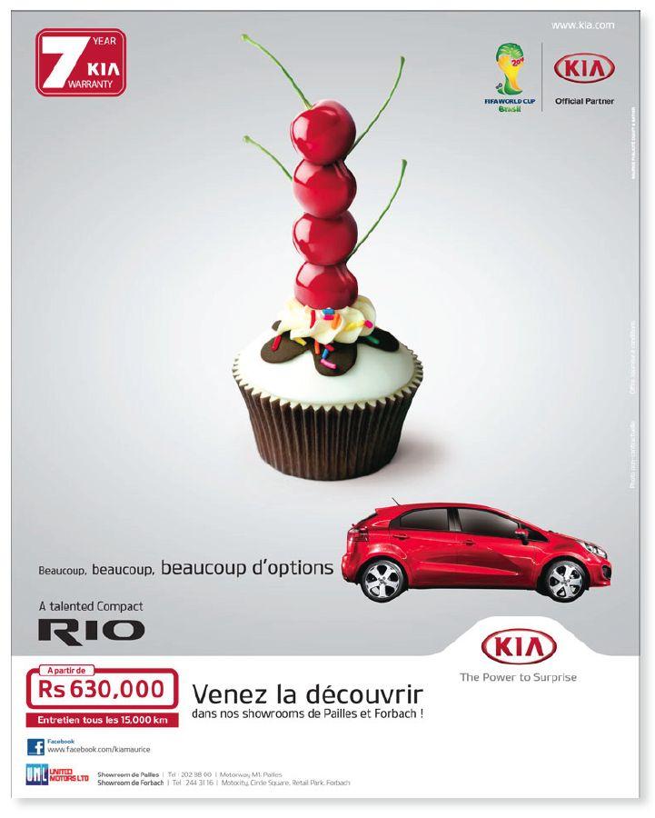 The many many many advantages of buying a KIA Rio