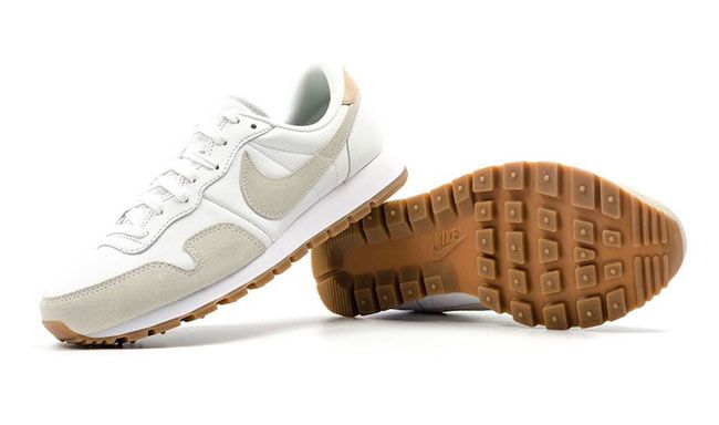 http://SneakersCartel.com Nike Air Pegasus 83 Premium Summit White and Vachetta…