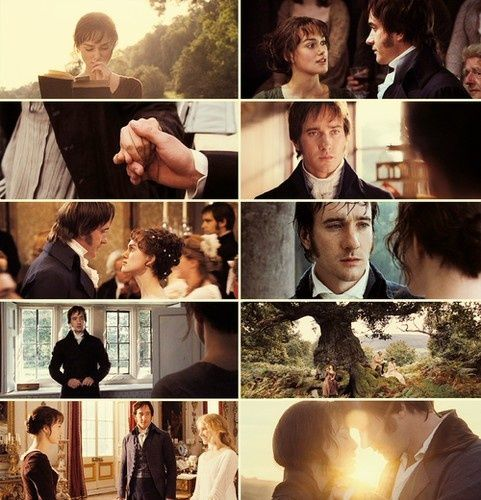Pride and Prejudice... BEST MOVIE EVER.