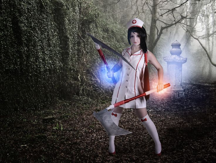 Nurse Akali from League of Legends by TomasLepka