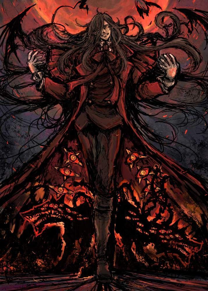 28 best Alucard From Hellsing images on Pinterest | Seras victoria ...
