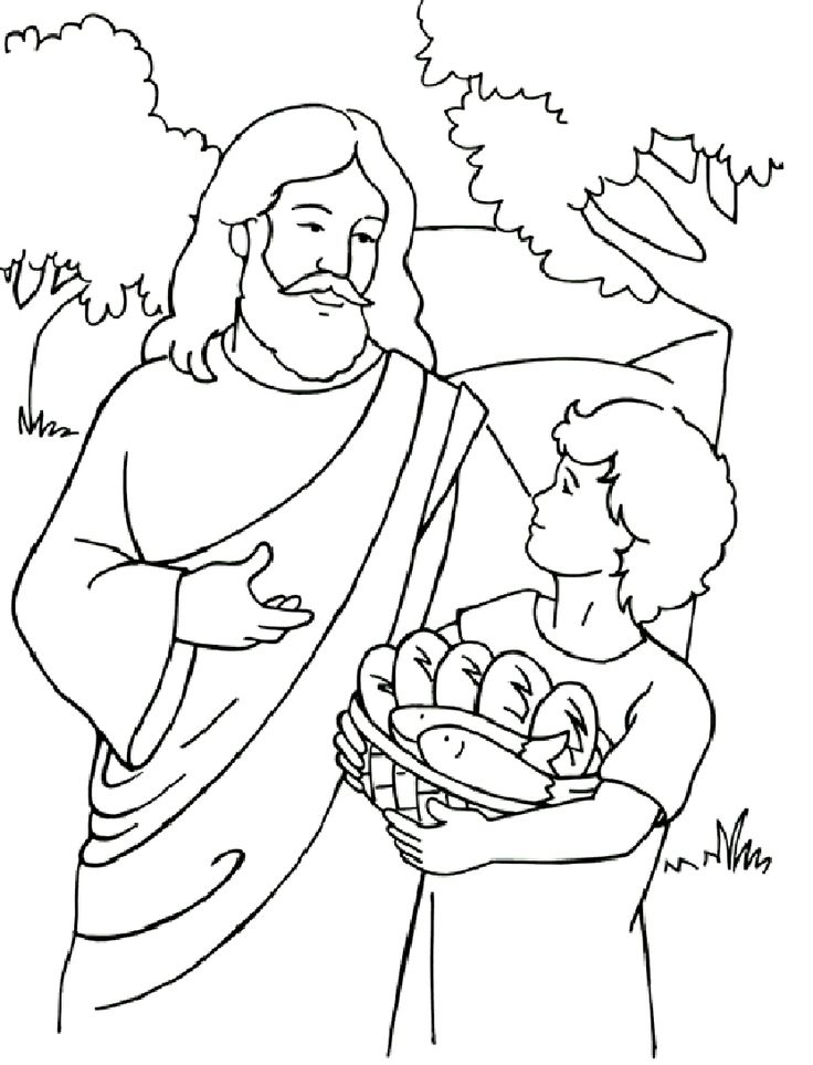 bible coloring pages for kids - 736×963