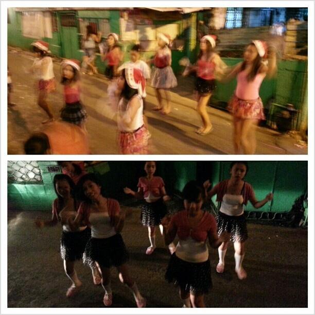 #クリスマス だから#歌 とか#踊り をしにお宅訪問。 #christmas #season #dance #gangnamstyle #street #philippines#フィリピン