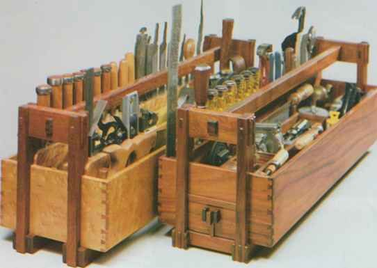 David Sellery Dovetail Tool Tote