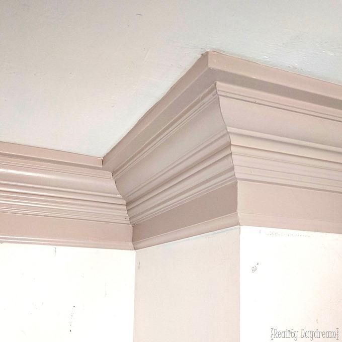 Installing Crown Molding To Be Super Chunky And Beefy Crown Molding In Bedroom Crown Molding Moulding Color