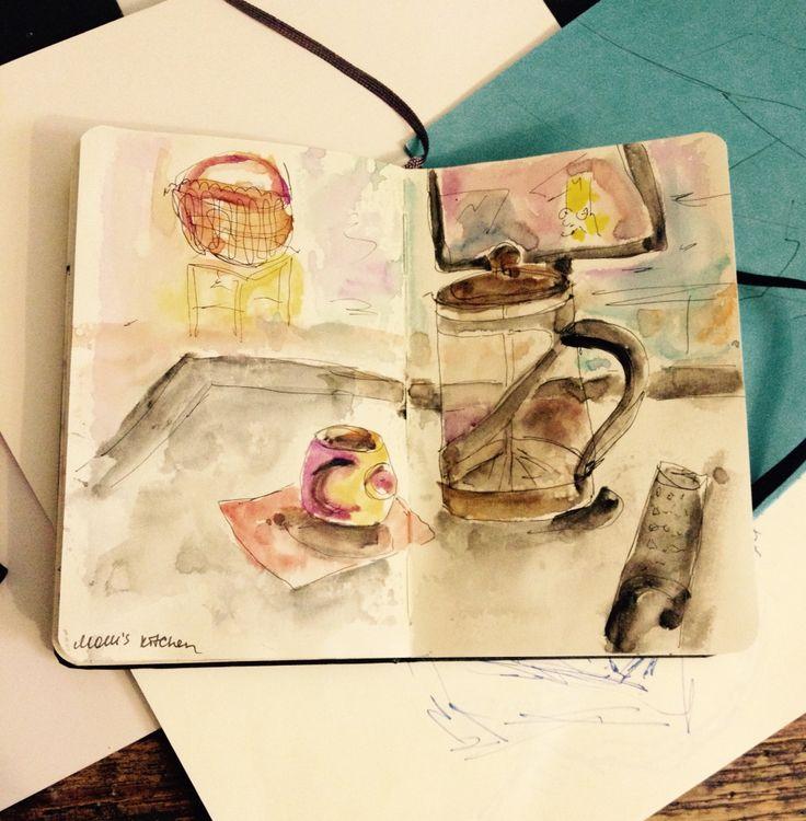 Sketching at home