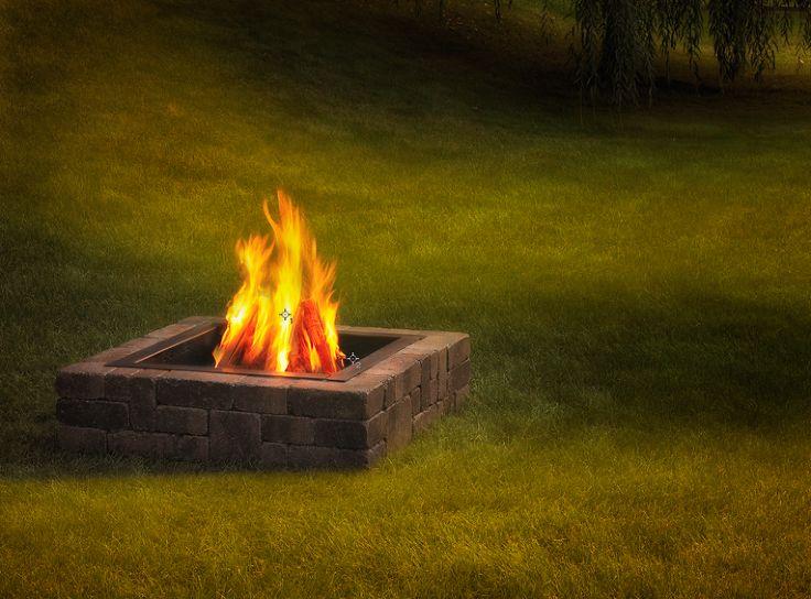 Hometalk :: Square Fire Pit