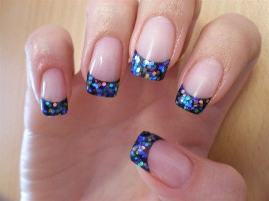 Best 25 glitter french tips ideas on pinterest sparkle gel every new years eve we spend countless hours trying to out sparkle our friends with glittery dresses eyeshadows shoes you name it prinsesfo Images