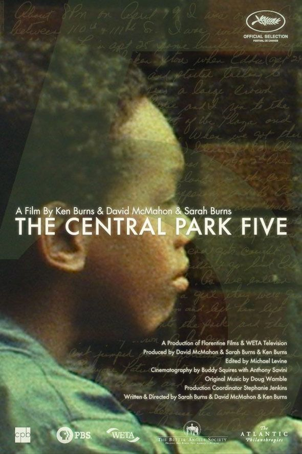 THE CENTRAL PARK FIVE (2012) - This piercing documentary examines the case of five teenagers, all African-American or Latino, who were convicted of the brutal rape of a white woman in Central Park in 1989. Years later, the confession of the real rapist set the jailed men free.