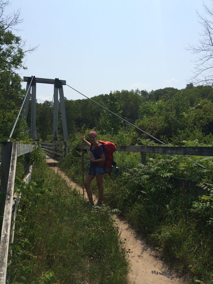 Manistee River Trail and North Country Trail