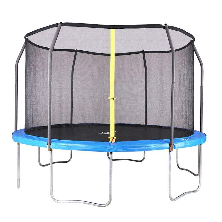 AirZone Jump 15ft Backyard Trampoline, Blue | Backyard ...