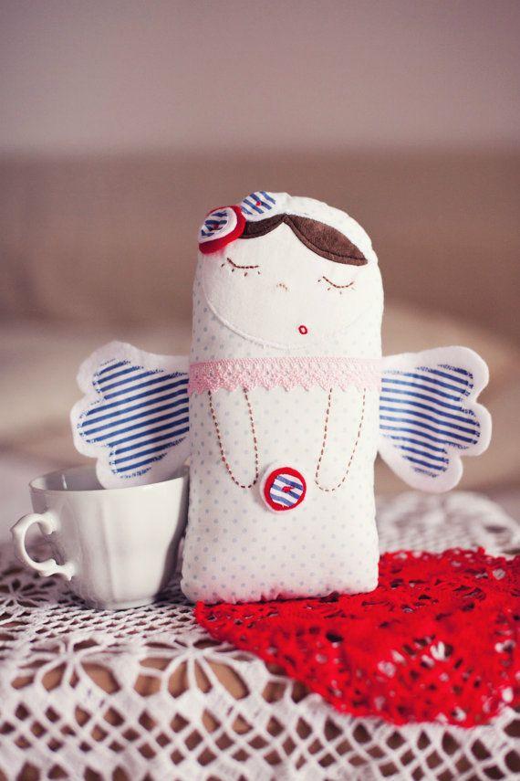 Cute angel doll by CodrutaM on Etsy, $30.00