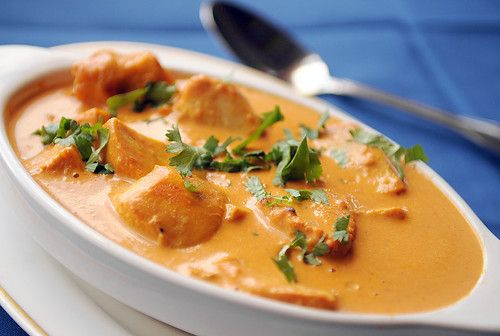 Delicious Butter Chicken.