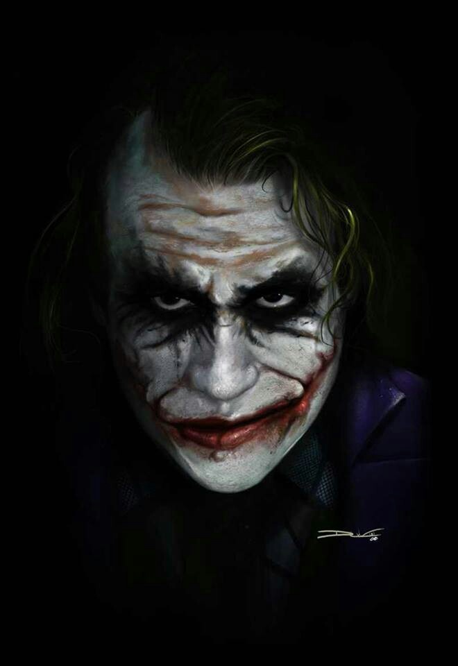 The joker is hilarious in dark night! Especially the hospital scene where he blows it up but is having trouble blowing it up because the button isn't working.