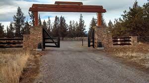 Image result for custom ranch entrance images