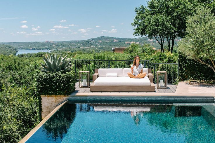 Camille Styles Pool - daybed
