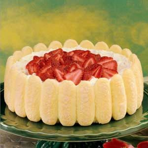 Pineapple Cheesecake with Lady Fingers - This is a no-cook recipe, that is so easy and impressive !