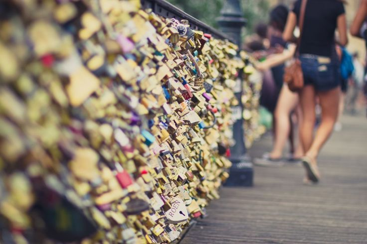 "The Paris ""Love Bridge"" is collapsing under the weight of your love #travel #culture"