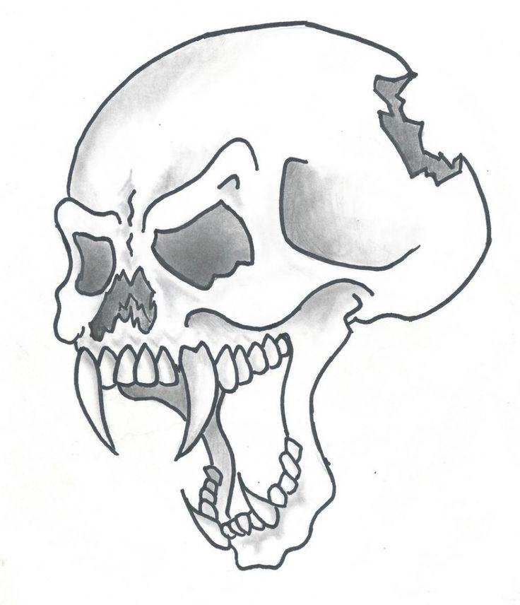 хорошо относится картинка череп легко спустя появилась