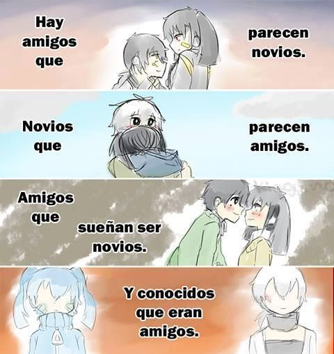 anime love con frases en español - Buscar con Google