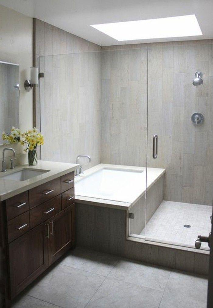 awesome ide dcoration salle de bain tub in shower design jolie mobalpa - Salle De Bain De Luxe Cabine Au Coin