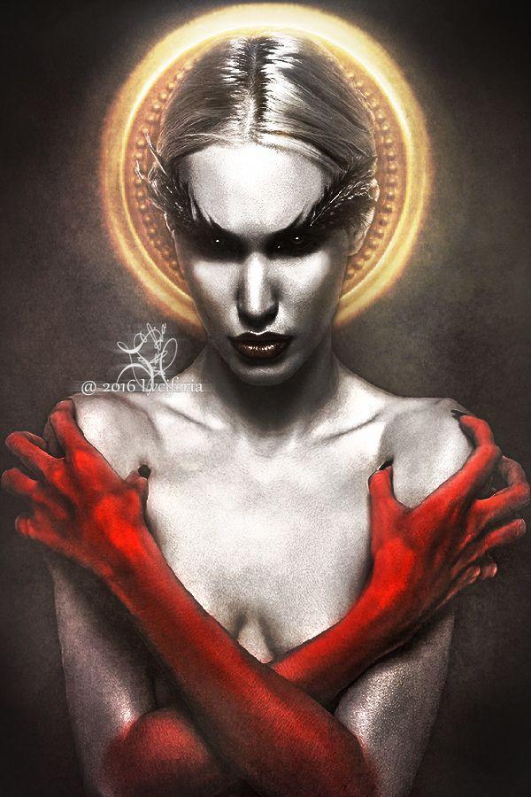 Sumerian Myth: Lamashtu is a goddess of the underworld ... Gothic Vampire