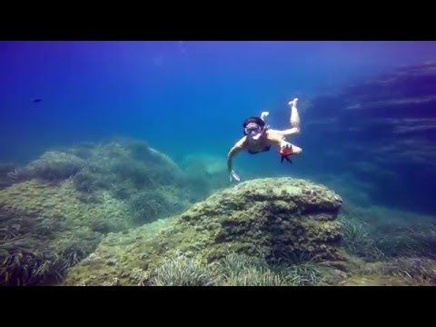 La Manga del Mar Menor. San Javier. - YouTube