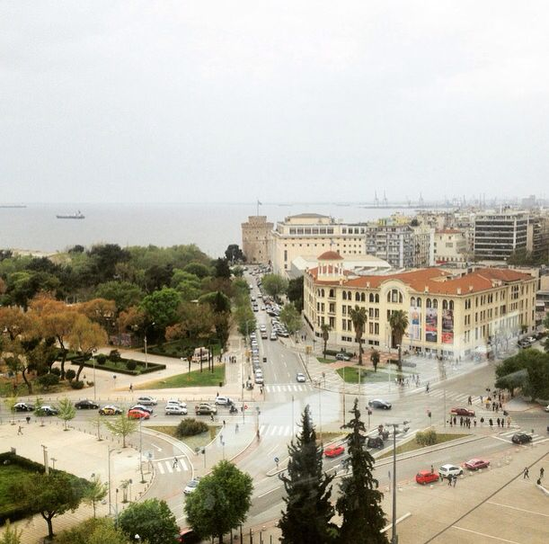 Thessaloniki, Greece #view