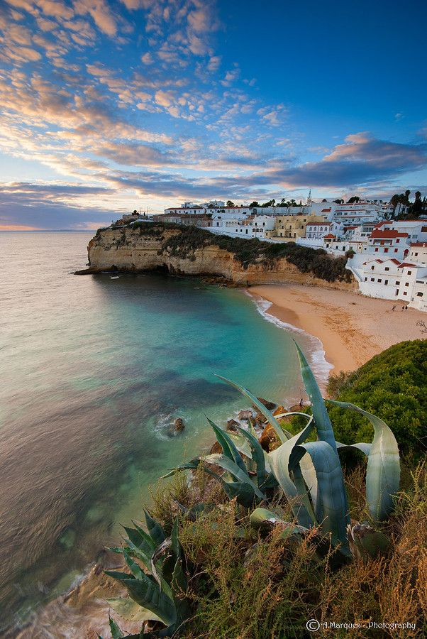 Seaside village, Algarve, Portugal
