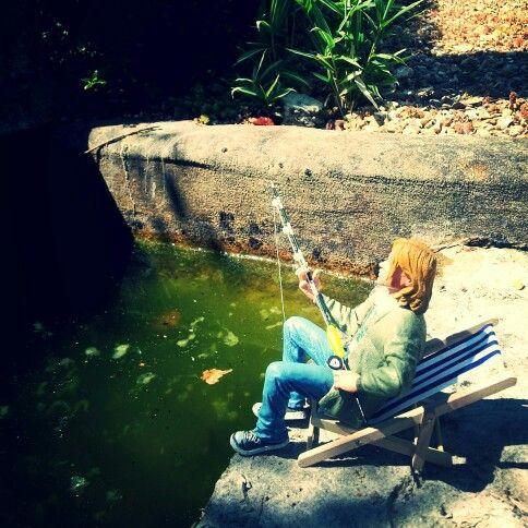 Kurt Cobain's gone fishin'