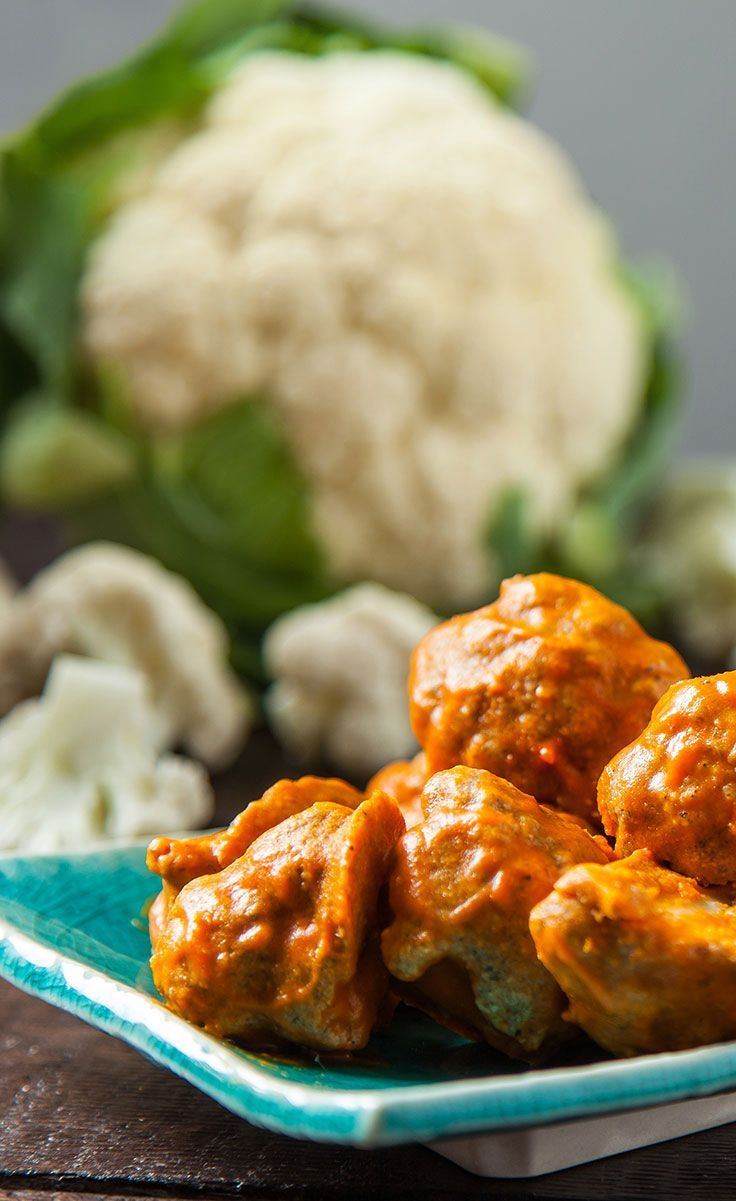 Cauliflower Buffalo Wings: Vegan Cauliflower Buffalo Wings are the perfect accompaniment to any friendly get together, satisfying even devoted meat-lovers. These wings dont just pack a punch of flavor but are loaded with plant-based goodness too! #VegaRe