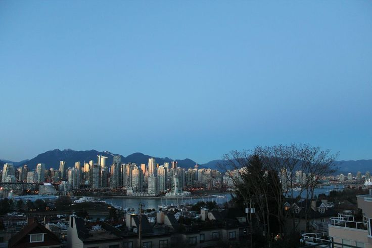 Sunset in Vancouver from a few days ago  - http://earth66.com/city/sunset-vancouver-days-ago/
