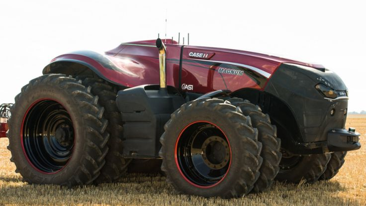 """An agricultural equipment manufacturer has unveiled a seriously intimidating-looking tractor. Called the Autonomous Concept Vehicle, the robotic monster machine can be programmed using a tablet computer, presumably to destroy enemy farms. <a href=""""http://www.gizmodo.co.uk/2016/09/this-robotic-tractor-looks-absolutely-mental/"""">Read more >></a>"""