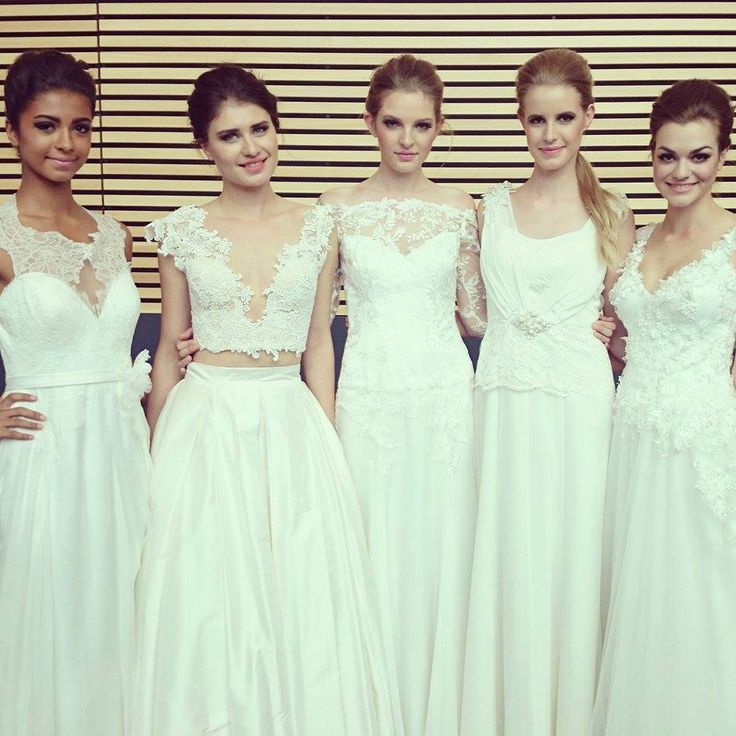Liza Emanuele Bridal Collection at Best Day Ever Wedding Festival