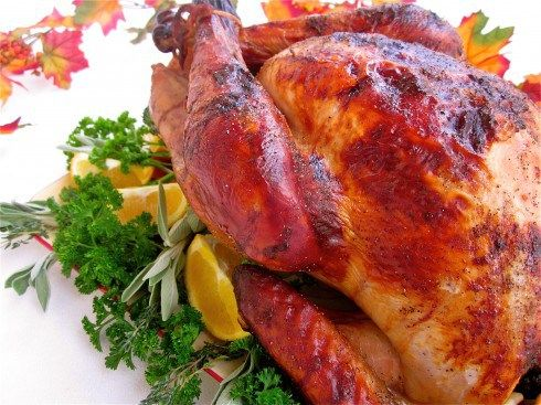 ... Apple-Cider Brined Turkey with Savory Herb Gravy - The Food Charlatan