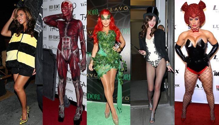 Костюмы на хэллоуин знаменитостей
