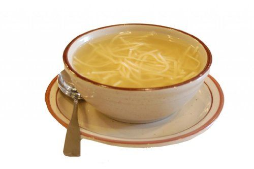 Canter's Deli, Chicken Broth with Noodles, 32 oz.:   This delightful combination is an old Canter's recipe that has satisfied customers over many decades. Great for helping fix a cold.