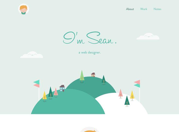 Game | Startup screen - flat illustration