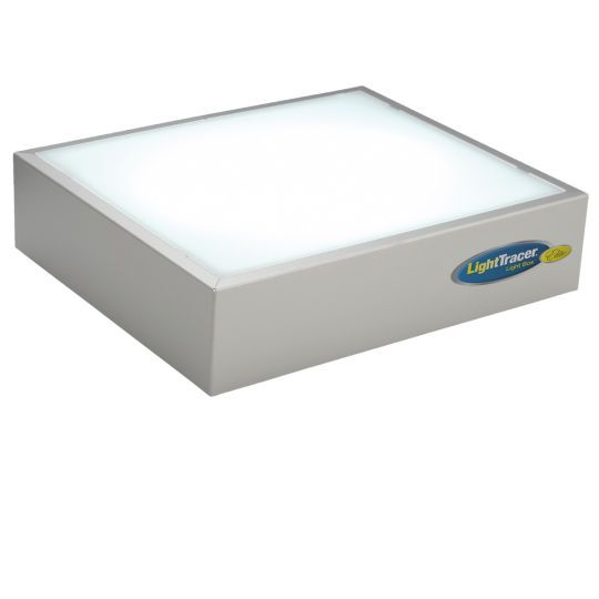 <div>Constructed of durable, lightweight aluminum, this light box offers an unobstructed flat wo...