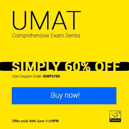 simply60-offer-on-UMAT-Comprehensive-Exam-Series-use-coupon-simply60