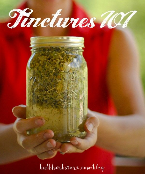 Herbal Tinctures 101 | Bulk Herb Store Blog | Would you like to learn how to make and use herbal tinctures in your home? We'll show you how…
