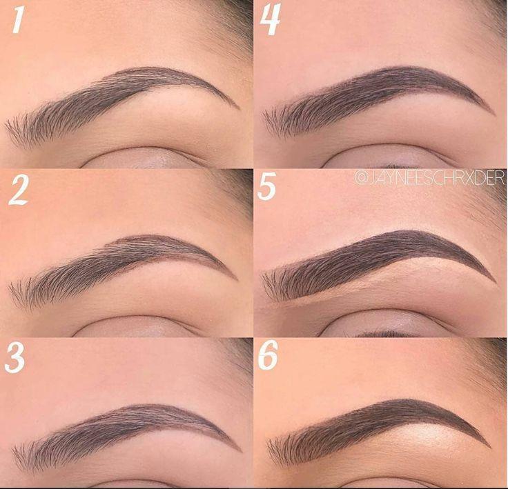 60 einfache Augen Make-up Anweisungen für Anfänger Schritt für Schritt Ideen (Au … – Haare und Beauty